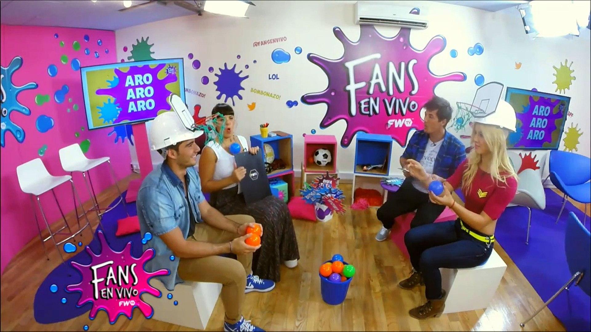 Fans en Vivo #52 - Flor Vigna y Nico Occhiato juegan al Aro Aro Aro