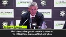 (Subtitled) 'Case closed' Lukaku social media post addressed by Solskjaer