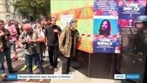 Steve Maia Caniço : les hommages dégénèrent à Nantes