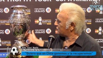 Coco Basile y la Copa América