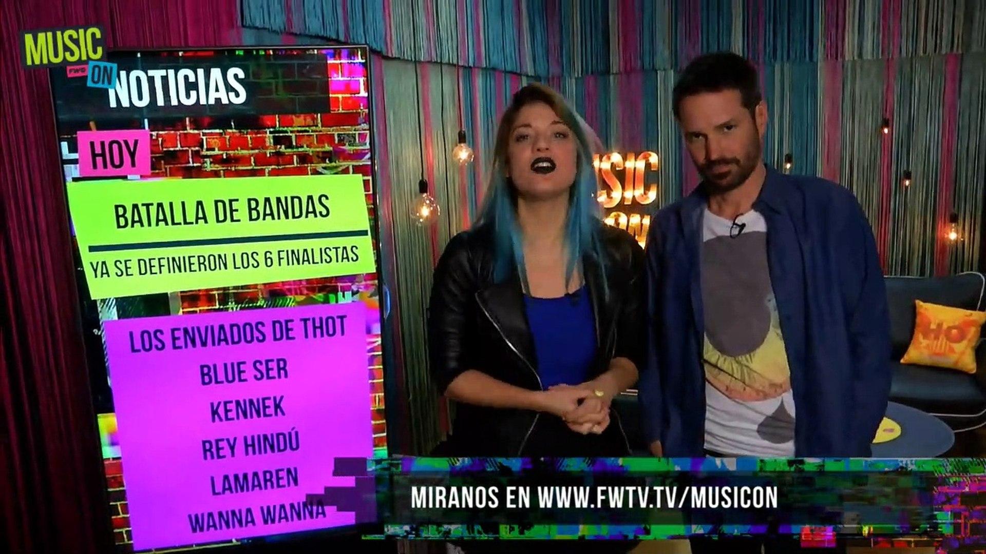 Las 6 bandas finalistas de la Batalla de Bandas Movistar 2015