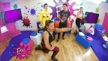 Blooper Mica baila la cancion del taxi + los chicos y alejo igoa terminan bailando en el piso - Fans en Vivo #157