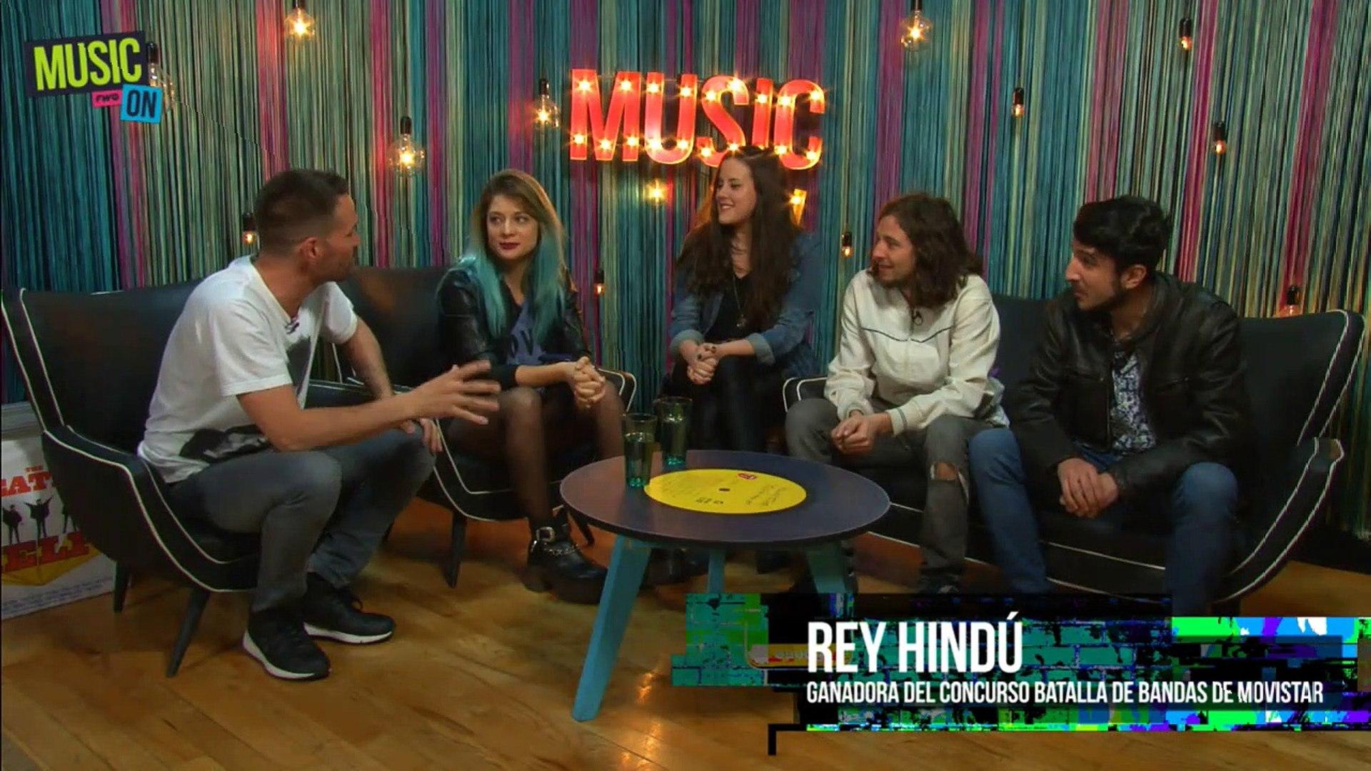 Entrevista con Rey Hindu, banda ganadora de la Batalla de Bandas Movistar