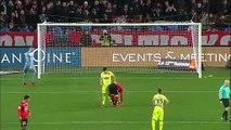 20/01/18 : Benjamin Bourigeaud (84') p. : Rennes - Angers (1-0)