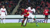 10/01/18 : Benjamin Bourigeaud (43') : Rennes - Toulouse (4-2)