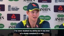 Smith revels in 'dream comeback' after back-to-back Ashes hundreds