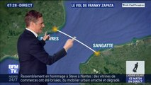Côté météo, les conditions sont idéales pour Franky Zapata, qui va tenter de traverser la Manche sur son Flyboard ce dimanche