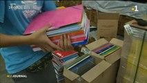 Kits scolaires : un achat groupé pour aider les familles dans le besoin.