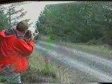 accident focus rally 6 tonneaux + arbre