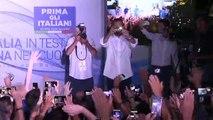 Salvini dalla festa della Lega di Cervia (03.08.19)