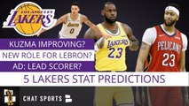 5 Lakers Stat Predictions For The 2019-20 NBA Season: LeBron James, Anthony Davis - DeMarcus Cousins