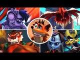 Crash of the Titans All Bosses (XBOX 360)