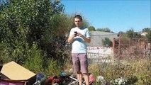 Avignon : ils ont pris leurs vélos pour dénoncer le dépôt de déchets
