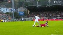 Le Tacle d'Abdellaoui face à Zurich
