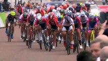 Cycling - Huge crash at Ride London Women finish line