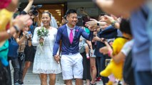 Wedding for Hong Kong couple facing up to 10-years in jail on rioting charges