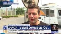 """Franky Zapata de retour en France: """"Pour voler à 160km/h, il y a quand même pas mal de turbulences donc on n'a pas le temps de penser"""""""