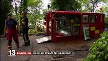 Royaume-Uni : menacé par un barrage, un village entier évacué