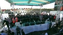 Bursa Şehir Hastanesi ve İstanbul-İzmir Otoyolu ortak açılış töreni - Açılış kurdelesi kesimi  -  BURSA