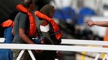"""La halte de Malte pour les 40 migrants du """"Alan Kurdi"""""""