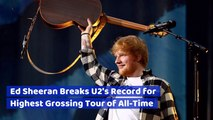 Ed Sheeran Makes Bank On His Tour