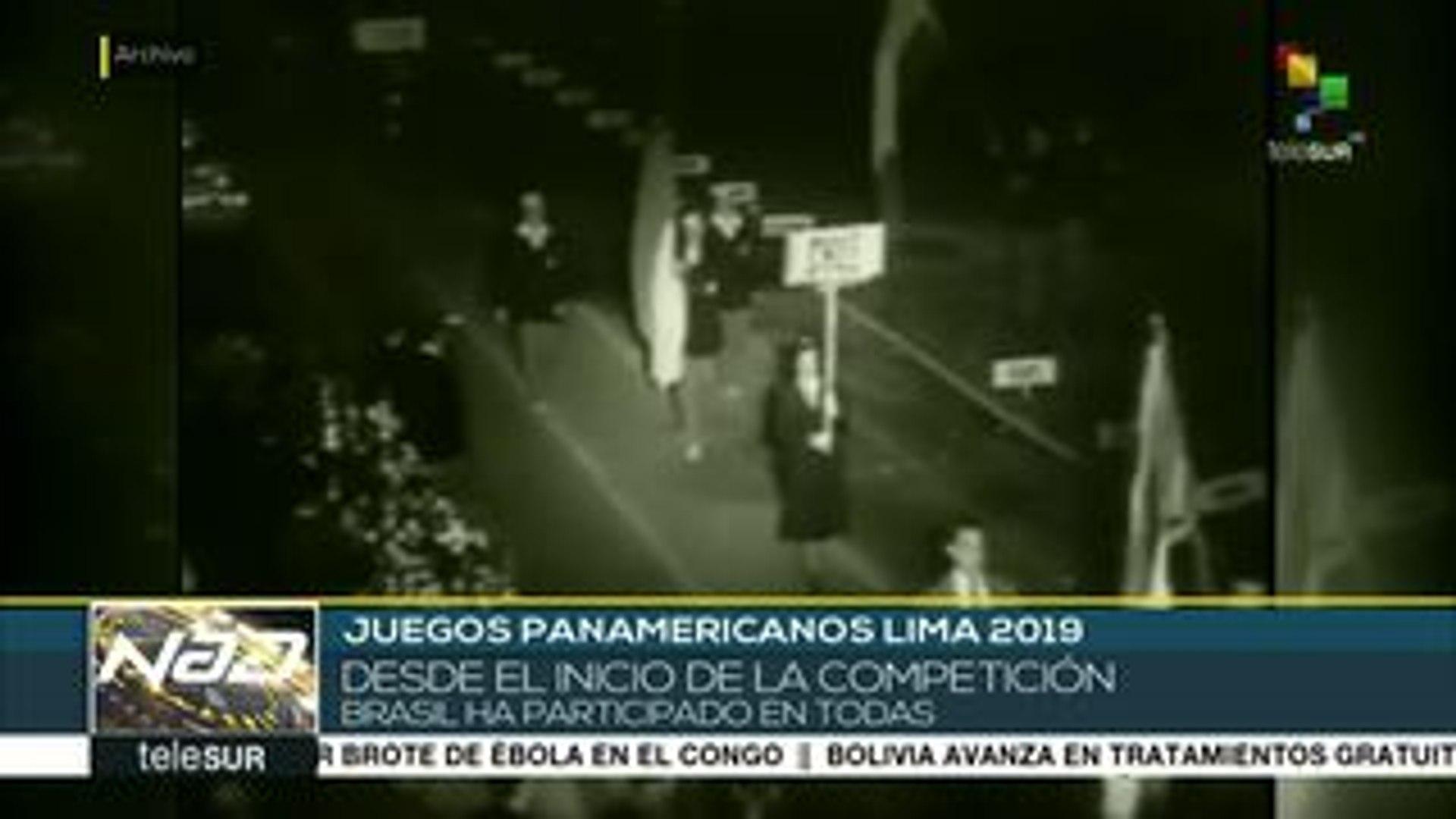 Nad Juegos Panamericanos 2019