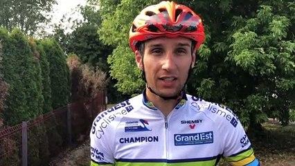 """Vincent Sibille, vainqueur à Harol : """"C'est une course où il faut être bien placé dans la bosse finale"""""""