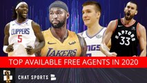 10 Of The Top Free Agents In The 2020 NBA Free Agency Class Feat. DeMarcus Cousins - Marc Gasol