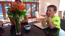 Мистер Макс Мисс Катя Prank Bad Kids Crushed CHOCOLATE Много Шоколада Жарим Gummy Какашк...