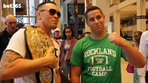 #UFCNEWARK - COLBY COVINGTON SHOWS HIS CUTE SIDE WITH FANS