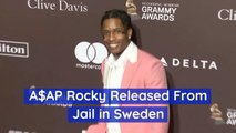 ASAP Rocky Is No Longer In Jail