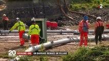 Royaume-Uni : un barrage menace un village