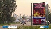 Russie : dévastée par des incendies, la Sibérie étouffe