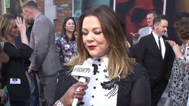Melissa McCarthy On Queen Latifah as Ursula
