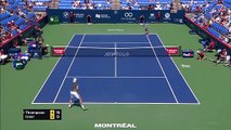 John Isner beats Jordan Thompson in the Rogers Cup first round