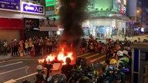 Enfrentamientos en Hong Kong en una nueva jornada de protestas