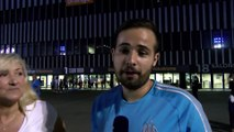 OM - Naples. Les réactions du public à l'issue du match