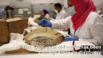 Egypt starts restoration of Tutankhamun's gilded coffin