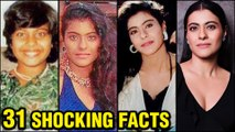 Kajol 31 SHOCKING And UNKNOWN Facts | DDLJ, Baazigar | Marriage, Kids | Happy Birthday Kajol