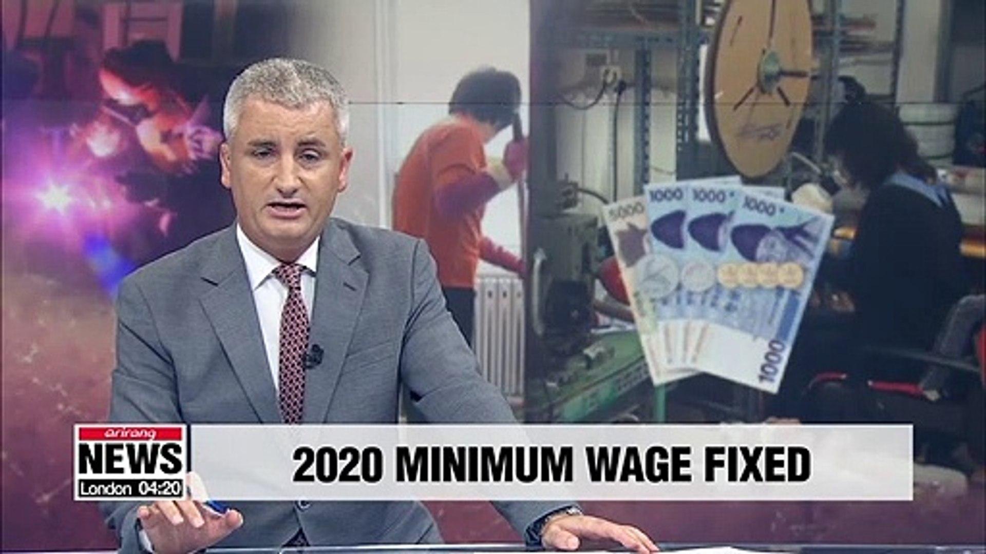 Gov't fixes next year's minimum wage at 8,590 won