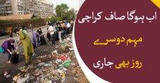 Govt's 'clean Karachi campaign' kicks off