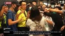 A Hong Kong, les transports en commun paralysés par des manifestants pro-démocratie à l'heure de pointe - VIDEO
