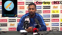 It has been an all-round team performance - Krunal Pandya | IND | WI Vs IND | IND Vs WI | Indian Cricket Team