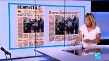 """""""Le Kremlin joue sur la peur pour stopper la contestation"""""""