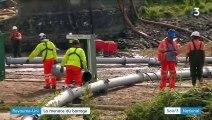 Royaume-Uni : un barrage menace d'engloutir une ville