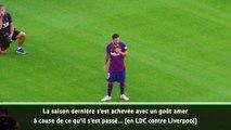 Barça : le discours fort de Lionel Messi