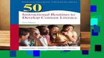 [FREE] 50 Instructional Routines to Develop Content Literacy (Teaching Strategies)