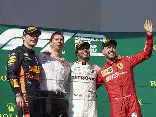 Classements du Grand Prix F1 de Hongrie 2019 - Infographie