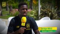 """Bridge Ndilu : """"Le FC Nantes, une suite logique"""""""