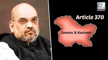 Jammu & Kashmir Update: Article 370 & 35A To Be Scrapped, Says Amit Shah